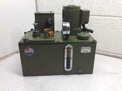 Showa Lubrication System, 220 V, MLA-03W, SMA-3-120, 1-3 cc/cy, Used, Warranty