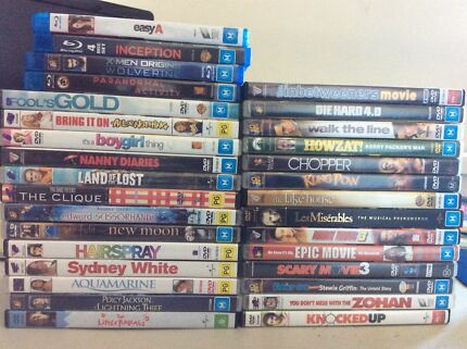 DVD & Blu-ray movies for sale Birmingham Gardens Newcastle Area Preview