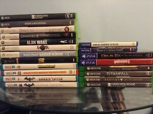 Games for Reasonable Prices: Xbox One/360/OG, PS4, Wii U, Vita