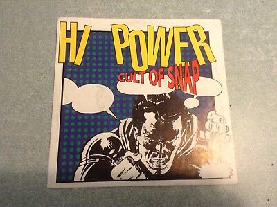 Disque vinyle 45 tours / hi power, cult of snap