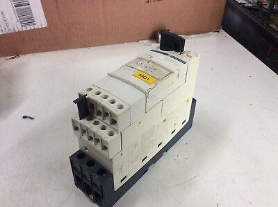 Telemecanique / Schneider LUB12 Motor Starter, w/ LUCA05XBL Overload Relay, Used