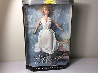 1997 Marilyn Monroe Barbie Doll Seven Year Itch Hollywood Legends Mattel