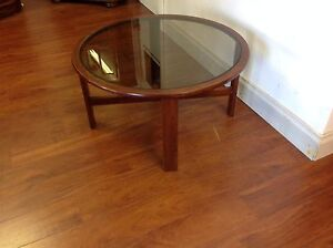 Round Glass Top Coffee Table Mulgrave Monash Area Preview