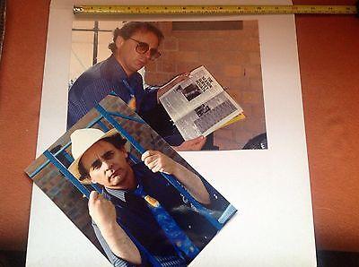 DR WHO PUBLICITY PHOTOS Sylvester McCoy. Genuine. Seventh Dr Rare