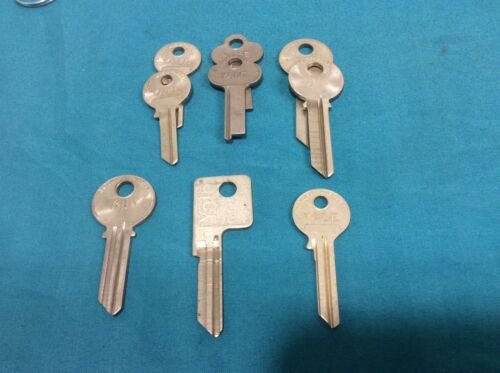 Yale original key blanks, set of 8, locksmith