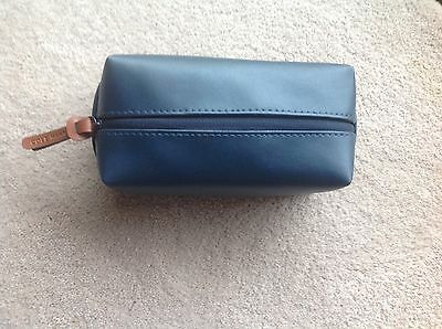 American Airlines Business Class COLE HAAN Amenity Kit Navy Blue, New!!