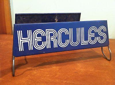 Vintage Advertising Tire Store Display Rack Stand Hercules Tires Sign