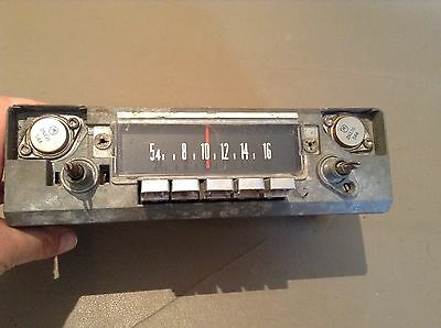1966 1967 Chrysler radio part # Mopar 3655 and 15D42209 used original condition