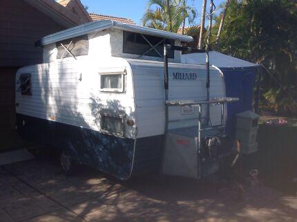 1982 Millard pop top caravan Robina Gold Coast South Preview