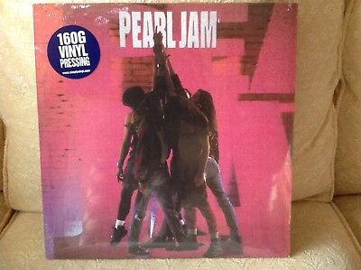 "Pearl Jam ""Ten"" (2000)160g Vinyl Pressing Lp SEALED!!!"