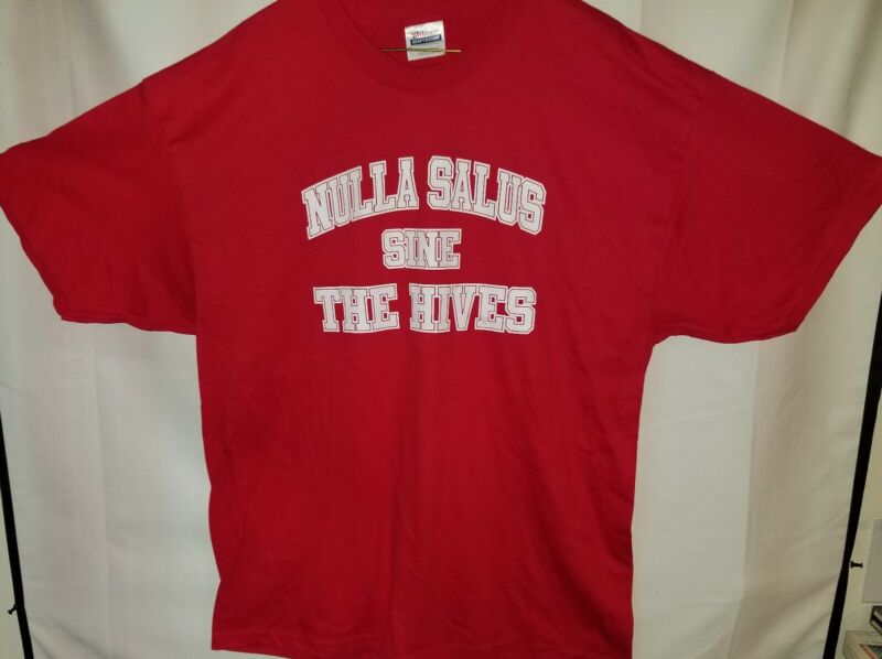 The Hives T-Shirt NEW Genuine licensed Band merchandise Red Size XL