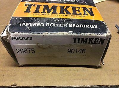 Timken Bearings 29675 90156-s 30 Day Warranty Free Shipping Lower 48