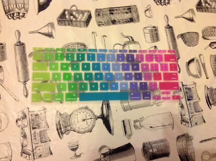 Rainbow colour keyboard protector. MacBook Air 11""