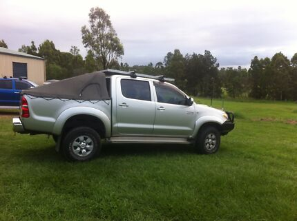 Canvas Canopy & Duel Cab ute tray Burpengary Caboolture Area Preview