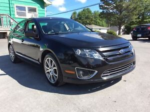 2012 Ford Fusion SEL WITH LEATHER AND SUNROOF! DRIVE IN PURE LUX