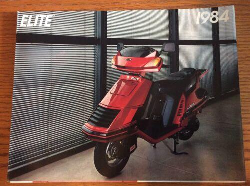 VINTAGE 1984 HONDA ELITE SCOOTER BROCHURE