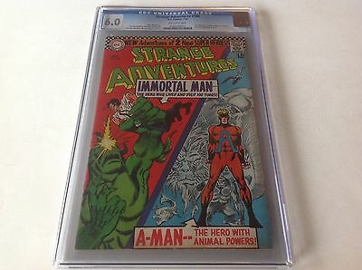 STRANGE ADVENTURES 190 CGC 6.0 1ST ANIMAL MAN IN COSTUME 1966 DC COMICS - Animal Man Costume