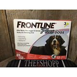 Merial Frontline Plus Flea & Tick Control for XL Dogs 89-132 lbs for 3 Month EPA