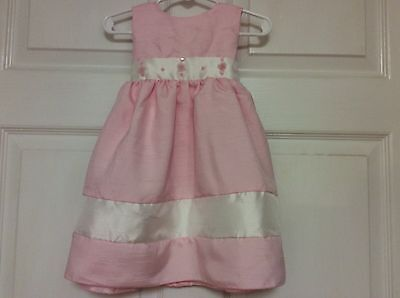 Peachy Girls (Peachy Kids baby girls dress set size 24 months pink ivory )