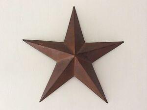 Primitive Rusty Tin Barn Star 18
