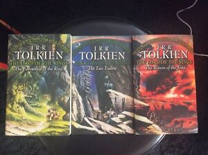 The lord of the rings paperback set
