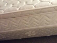 AS NEW DOUBLE BED WITH PILLOW TOP MATTRESS+base Belmore Canterbury Area Preview
