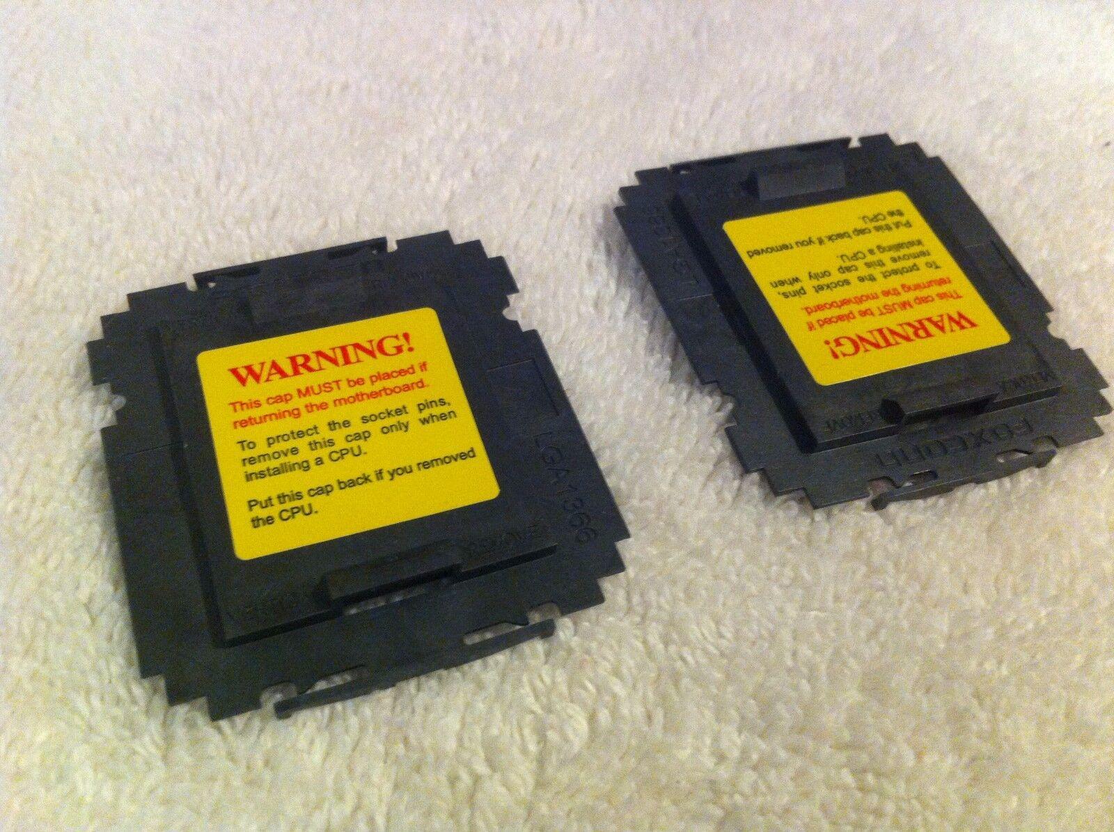 100 Pcs Foxconn Intel Lga1366 Cpu Socket Protector Cover ...