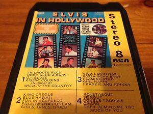 Vintage music tape 8-Track Elvis in Hollywood Windsor Region Ontario image 6