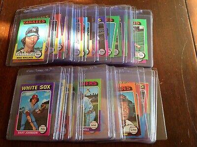 1975 Topps Mini's BB Singles U-Pick (NRMT-NMMT) Set Break(Free Shipping)#400-499 Free Mini Pick Set
