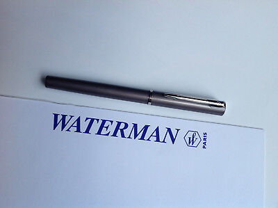 Waterman Tintenroller Allure grau