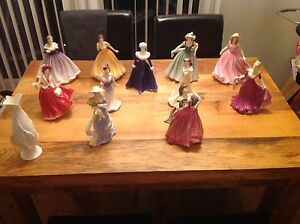 Royal-doulton-figurine-collection-bundle-x-12-job-lot-brand-new