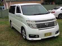 Nissan elgrand highway star 2002 Revesby Heights Bankstown Area Preview