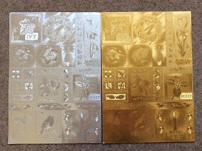 'Dufex' Christmas Metallic 2 x Sheets A4