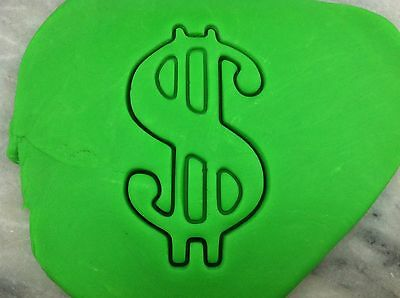Money Cookie Cutter CHOOSE YOUR OWN SIZE! Dollar Sign Dollar Sign Cookie Cutter
