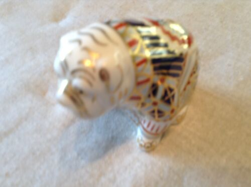 Royal Crown Derby Bulldog Figurine