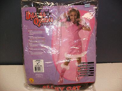 DRAMA QUEENS ALLEY CAT CHILD HALLOWEEN COSTUME MEDIUM (Halloween Kid Cat Costumes)