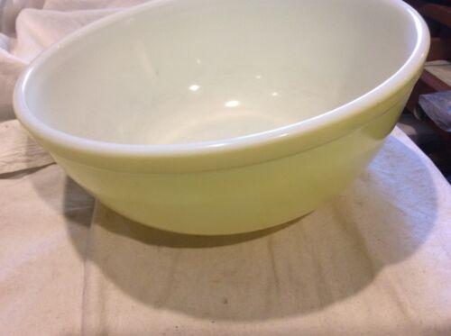 Vintage Pyrex Large Yellow Mixing Bowl
