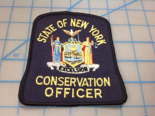 State of NEW YORK Conservation Officer Embroidered Patch (N)