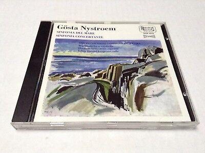 Gosta Nystroem - Sinfonia Del Mare, Concertante Stockholm Radio Symphony CD segunda mano  Embacar hacia Argentina