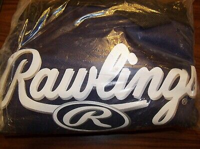 Rawlings Baseball Bat Softball Player Equipment Bag Navy Blue New In Package