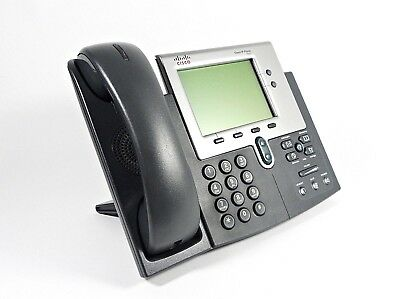 Cisco 7941g Unified Ip Phone Voip Phone Poe Business Telephone Cp-7941g