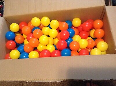 296 PLASTIC COLORFUL BALLS SMALL AND LIGHT BALL PIT KIDS PLAY FUN - Small Ball Pit