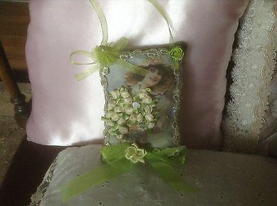 Попурри Victorian sachet in green with