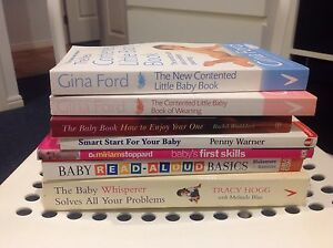 Bundle of Baby Books for Parents including Gina Ford Albany Creek Brisbane North East Preview