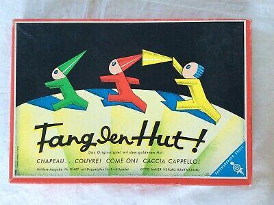 134) Fang den Hut sehr altes Hütchenspiel Ravensburg Made in West Germany *  ()
