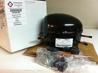 W10507886 / WPW10507886  WHIRLPOOL REFRIGERATOR  COMPRESSOR ASSEMBLY. *NEW PART*