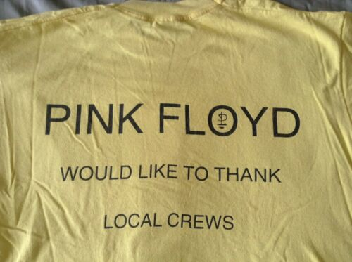 Pink Floyd CREW T-Shirt 1994 XL David Gilmour roger waters Division Bell RARE!