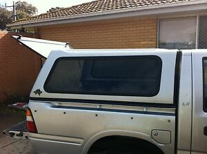 CANOPY FOR DUAL CAB RODEO UTE Portland Glenelg Area Preview