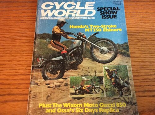 VTG CYCLE WORLD MAGAZINE AUGUST 1973 ISSUE