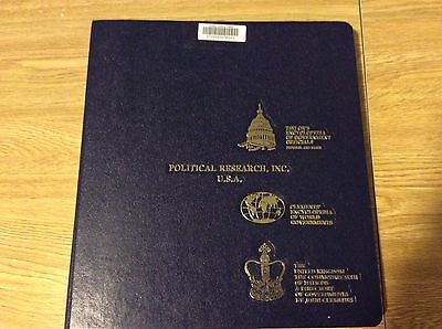 Political Research Inc Usa Taylors Encyclopedia Of World Governments 1989